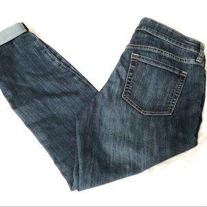 GAP 1969 Sexy Boyfriend Fit Cropped Jeans Size 10